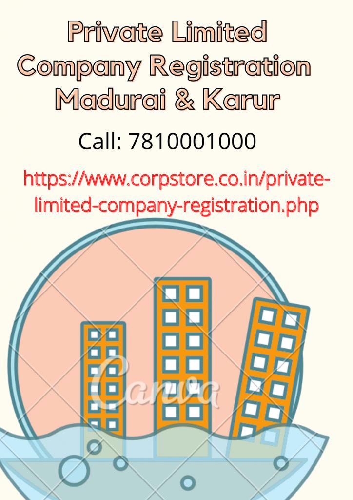 Private Limited Company Registration in Madurai